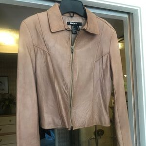 DKNY Leather Jacket from Bergdorf Goodman